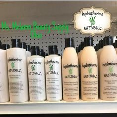 Today.... Hydratherma Naturals products are officially on the shelves at our newest retail location in metro Columbus, Ohio👉🏾 Ms. Melanin Beauty Supply! 3601 Gender Road. @ms.melanin_beauty_supply  Find a retail location near you selling Hydratherma Naturals at www.HydrathermaNaturals.com .  Repost @ms.melanin_beauty_supply (@get_repost) ・・・ Are you newly natural and overwhelmed by huge product lines? Looking for a line that's simple and made to provide your hair with the hydration and…