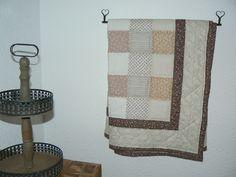 Block Quilt auch einfach zur Wanddeko geeignet.