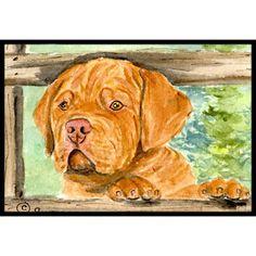 Caroline's Treasures Dogue De Bordeaux Doormat Rug Size: