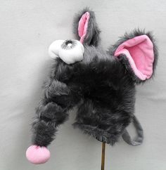 Golf club head cover Rat Big mouse by Puppetsinabag on Etsy