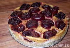 Fotorecept: Polentový koláč so slivkami