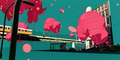 Pictoplasma Festival 2012 - Opener by SEHSUCHT , via Behance