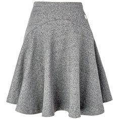 Kenzo Tiger Motif Skirt ($205) ❤ liked on Polyvore featuring skirts, mini skirts, dark grey, stretchy mini skirts, swing skirt, kenzo, stretch mini skirt and stretch skirt