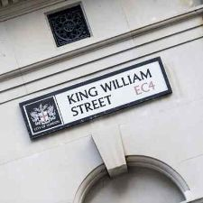 Professional serviced offices in King William street London.