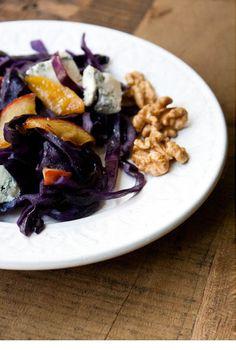 - VANIGLIA - storie di cucina: insalata tiepida di cavolo rosso, mele e noci
