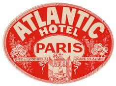 Hotel Atlantic, Paris