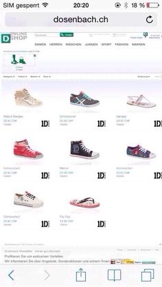 The boys released a shoe collection