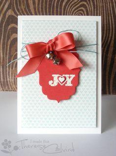 Lostinpaper - Joy bell Christmas card