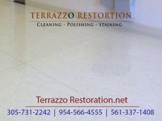 terrazzo floor restoration services in fort lauderdale area the