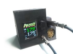 Soldering Station project using Arduino with TFT display