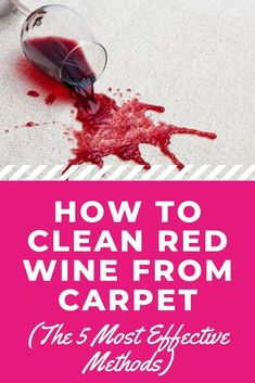 We all love a late-night Netflix binge with ice-cream or wine. But what happens if you spill a bit of your red? See how to clean red wine from carpet using these 5 effective methods. #carpetcleaning #carpetcleaningtips #carpet #carpetcleaninghacks #cleaningtips #cleaninghacks #howtoclean Deep Cleaning Checklist, Cleaning Hacks, Cleaners Homemade, Diy Cleaners, Pet Hair Removal, Cleaning Appliances, Diy Carpet Cleaner, Best Vacuum, Household Cleaners