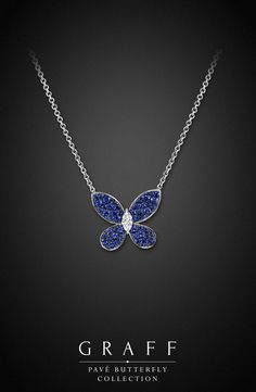 Graff Diamonds: Pavé Butterfly Pendant