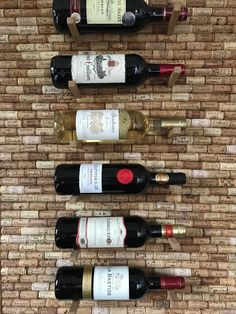 Support pour 6 bouteilles de vin en bouchon de liège by DIMENSYON