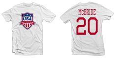 USA Legend, Don't Tread on Me Hero Tee: Brian McBride Printed Tee