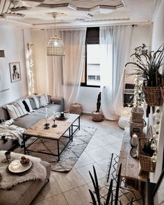 cozy beige room, boho chic decor, # cozy room room home decor lighting room decor room decor wall office decor ideas decoration design room Boho Room, Boho Living Room, Living Room Modern, Living Room Designs, Small Living, Cozy Living, Living Area, Cute Living Room, Bohemian Bedrooms