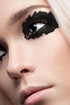 Black eye by Tatyana Karpenko