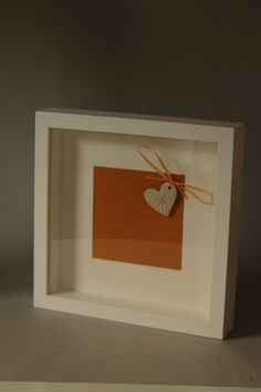 Framed Heart - Made by Nuala Corcoran