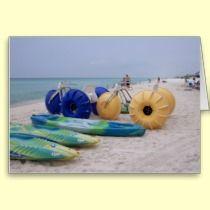 Big boy's toys on the beach by Gwen Billips  at zazzle/bbillips