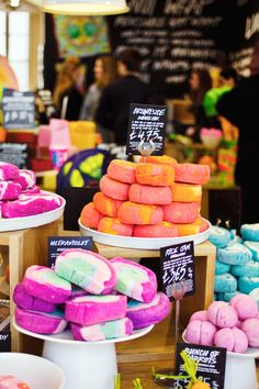 Lush bath bombs for heather!