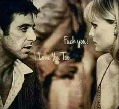 A relationship like Scarface