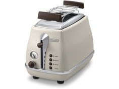 Icona Vintage 2 Slice Toaster Glossy Sky Blue and pastel finish 2 slice toaster from Delonghi Australia Retro Appliances, Cooking Appliances, Small Kitchen Appliances, Home Appliances, Vintage Toaster, Retro Toaster, Everything Is Blue, Vintage Lighting, Kitchen Accessories