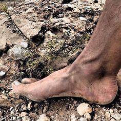 Las plantas de las piedras.  #barefootrunning  #trailrunning  #running  #trail