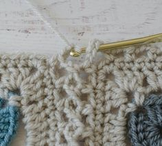 Happily Ever Afghan - Crochet a Flat Braid Join - Crochet 365 Knit Too