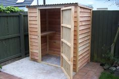 Strong, Solid Wooden Sheds made to Order