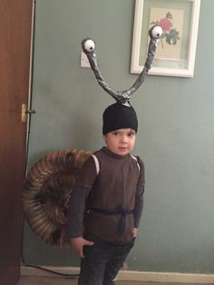 Snail and the whale costume