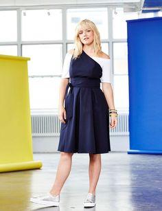 One Shoulder Tie Waist Dress   Summer Romance Collection   Women's Plus Size Fashion   ELOQUII