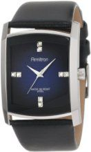 Shimmering crystals and sleek silver-tone accents define the Armitron Men's Swarovski Crystal Accented Silver-Tone Black Leather Strap Watch. Black Stainless Steel, Stainless Steel Watch, Emporio Armani, Cool Watches, Watches For Men, Wrist Watches, Men's Watches, Michael Kors, Diesel