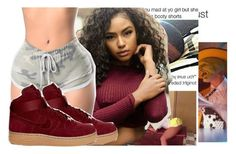 """Untitled #2479"" by kayla77johnson ❤ liked on Polyvore featuring NIKE"