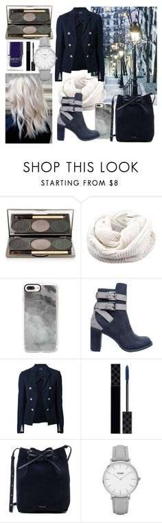 """Untitled #35"" by sziszisch ❤ liked on Polyvore featuring Chantecaille, Casetify, Rebels, Theory, Gucci, Mansur Gavriel, CLUSE and Nails Inc."