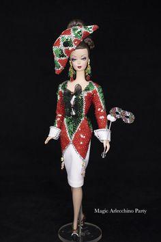 Magia2000 OOAK Dolls Ooak Dolls, Captain Hat, Hats, Fashion Design, Fantasy, Hat, Hipster Hat