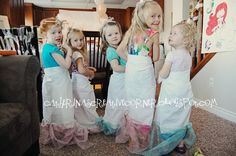 Mermaid party tails and lovely blog