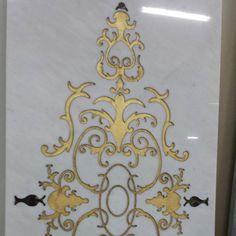 #homedecor #classic #style #decoration #production #fogliaoro #luxurydesign #artigianatoitaliano #decor #flooring #handmade #project #interiodesign #biancocarrara #architecture #inlayart #marble