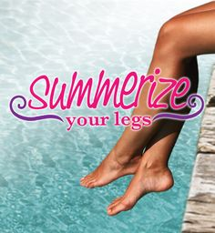 Enter the Summerize Your Legs Sweepstakes for a chance to win a Summerize Prize Pack!