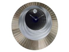 Reloj de Pared Contemporáneo Bronce Candiles Tiffany Relieve Round