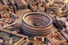 Reconstrucción de la Roma antigua