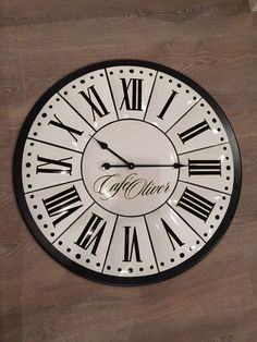 A personal favourite from my Etsy shop https://www.etsy.com/listing/596967673/antique-enameled-large-clock