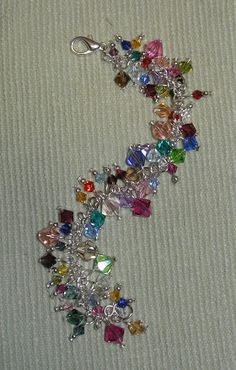 I bet I have enough leftover beads to do this...