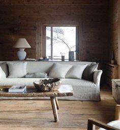 Eetkamer bank van interior dmf gecombineerd met stoelen eettafels pinterest interieurs en met - Trendy deco eetkamer ...