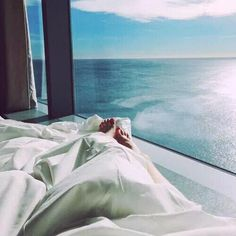 A view to look at before bed and to wake up to in the morning. #Olicity #OlicityTravels