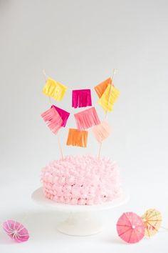 Cinco De Mayo Cake Topper DIY   Oh Happy Day!