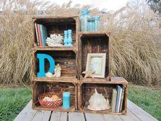 #wood #crate #décor