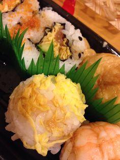 2 Octobre soir  On remet ça avec des sushis et makis !