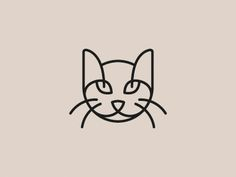 Cat logo / pinned on toby designs