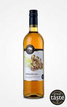 Lu's favorite Ginger Wine
