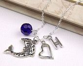 Personalized Dolphin Necklace