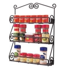 I will find these spice racks or something like them one day.  I want them so that I can organize my nail polish and hang it in the bathroom!